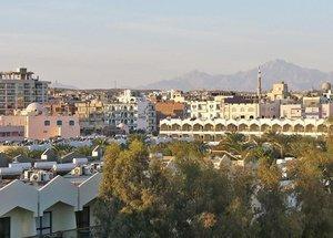 Хургада. Панорама города.