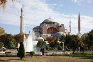 Стамбул. Дворец Святой Софии.