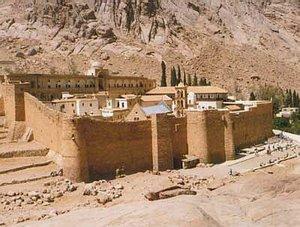 Шарм-Эль-Шейх. Монастырь Св.Екатерины.