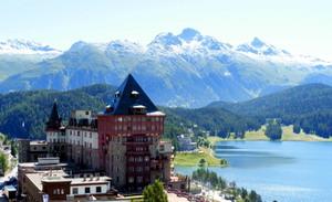 Горнолыжный курорт Санкт-Мориц (Швейцария)