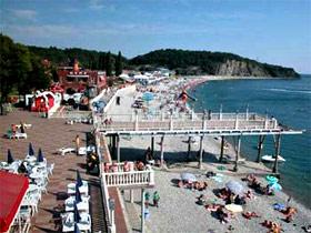 Туапсе - пляж