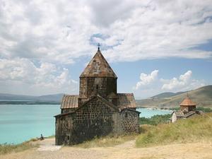 Армения. Севанский монастырь.