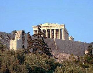 Отдых в Греции. Афины. Парфенон