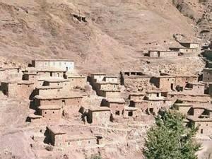 Марокко. Берберская деревня.