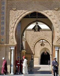 Отдых в Марокко. Королевский дворец в Рабате.