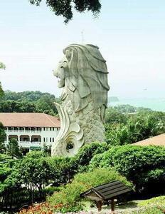 Отдых в Сингапуре на острове Сентоза.