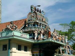 Отдых в Сингапуре. Индуистский храм