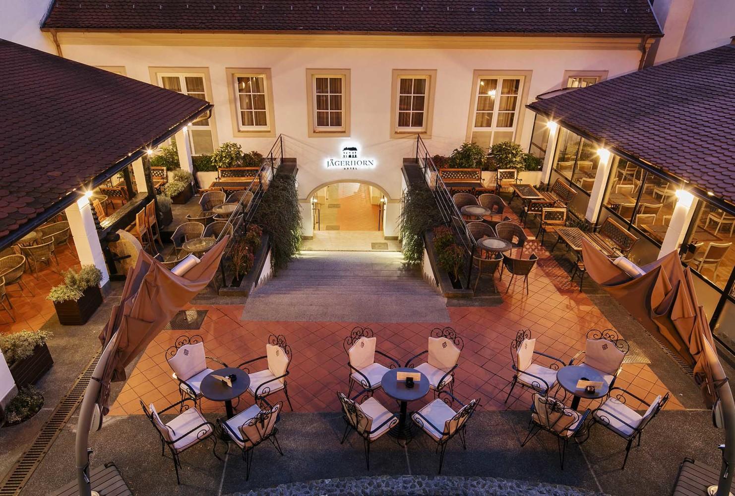 Фото отеля Hotel Jagerhorn 3*