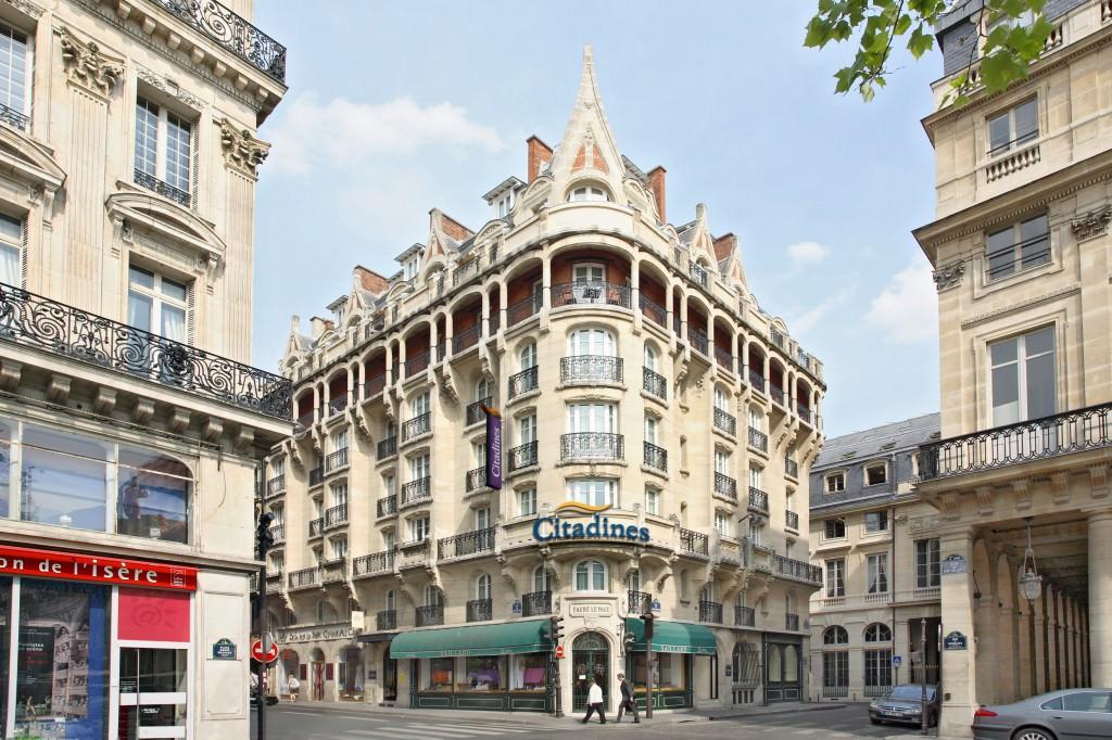 Фото отеля Citadines Aparthotel Louvre 2*