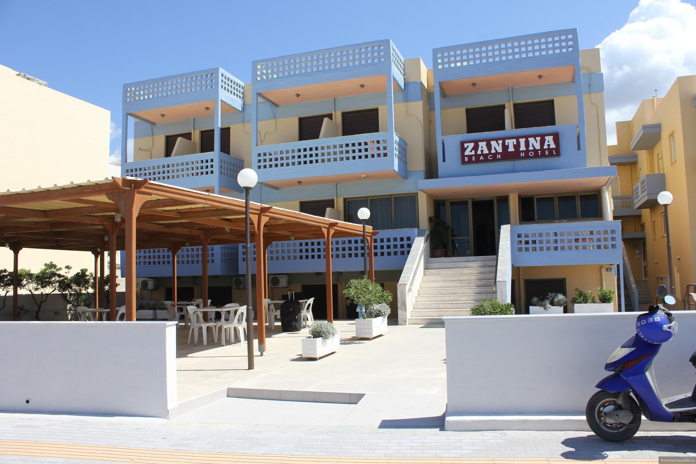 Фото отеля Zantina Hotel 2*