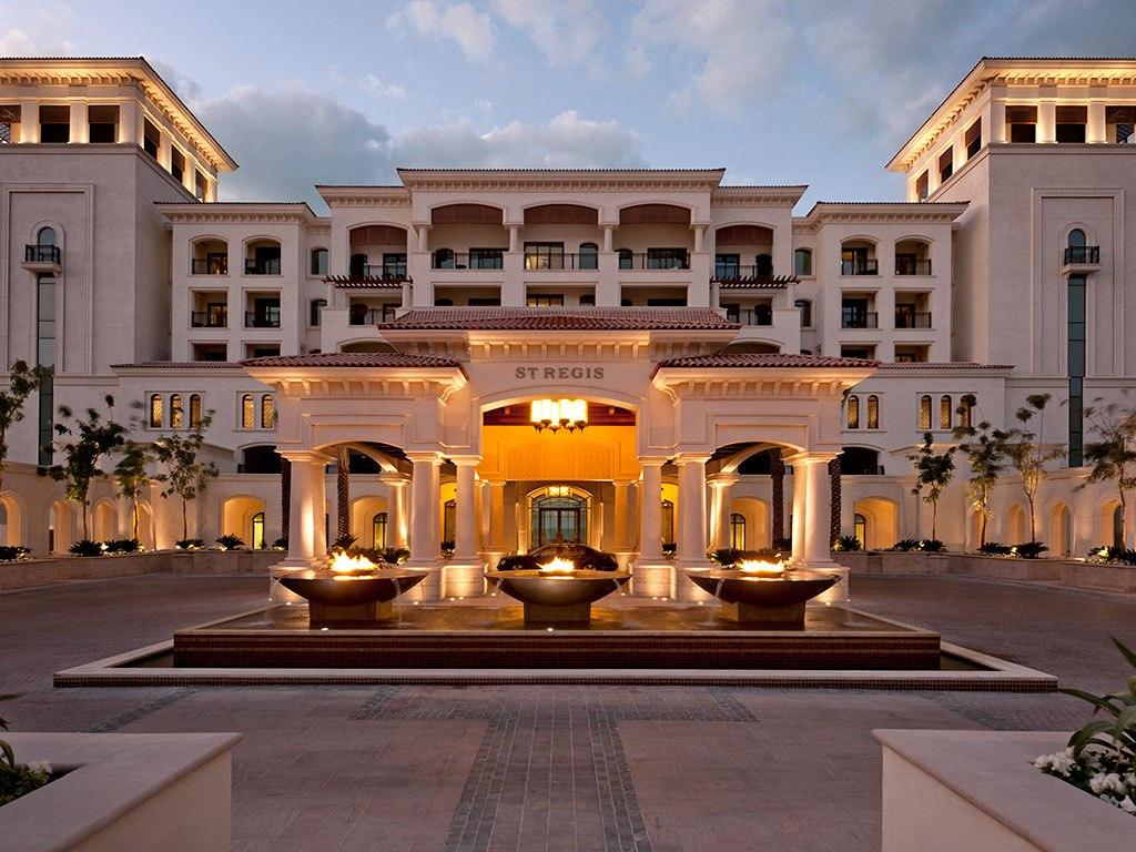 Фото отеля The St. Regis Abu Dhabi 4*