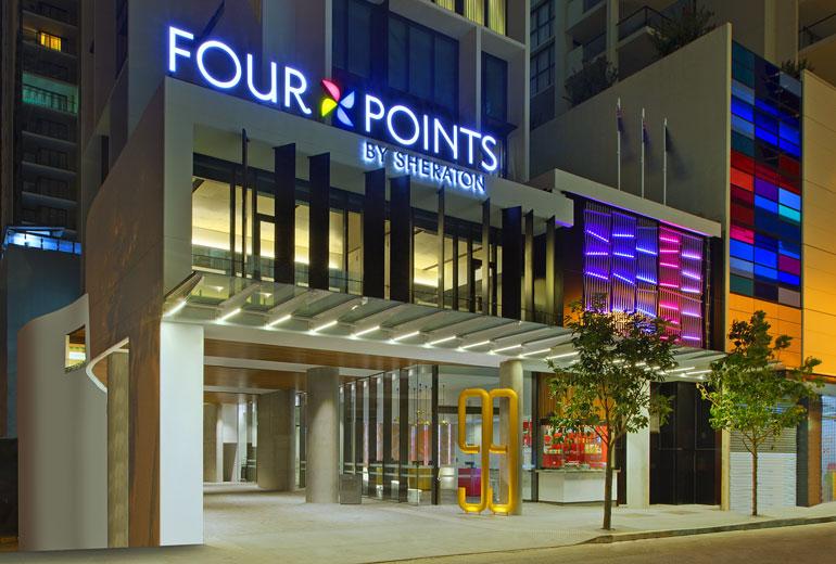 Фото отеля Four Points by Sheraton Brisbane 4*