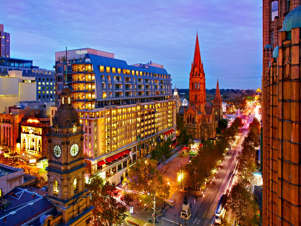 Фото отеля The Westin Melbourne 5*