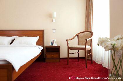 Фото 4* Маринс Парк Отель Новосибирск