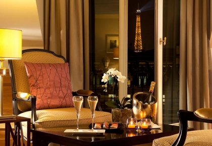 Фото 4* Marriott Hotel Champs-Elysees