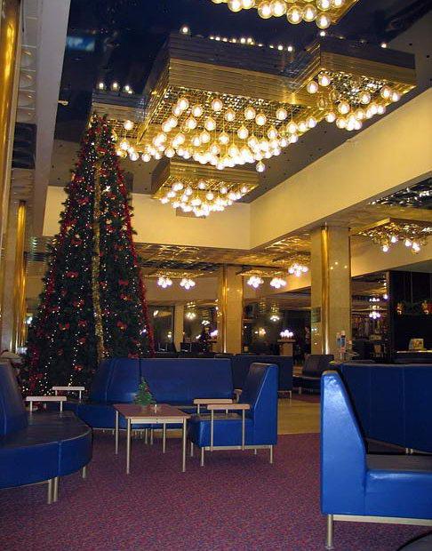 """Lobby Bar - Гостиница  """"Пулковская """" в городе Санкт-Петербург."""