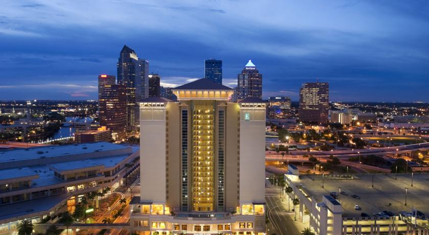 Фото отеля Embassy Suites Tampa - Downtown Convention Center 3*
