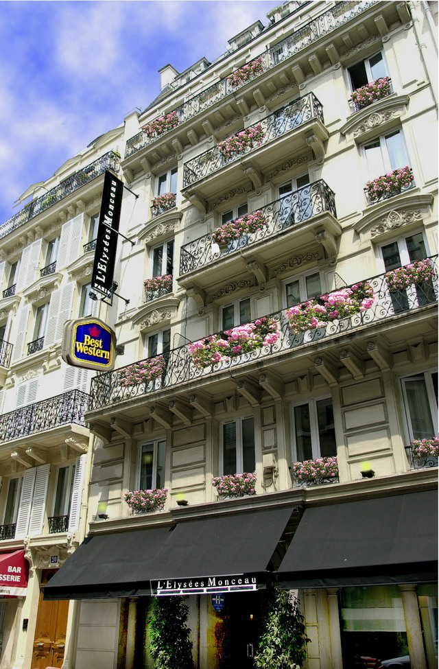 Фото отеля Best Western Elysees Paris Monceau 3*