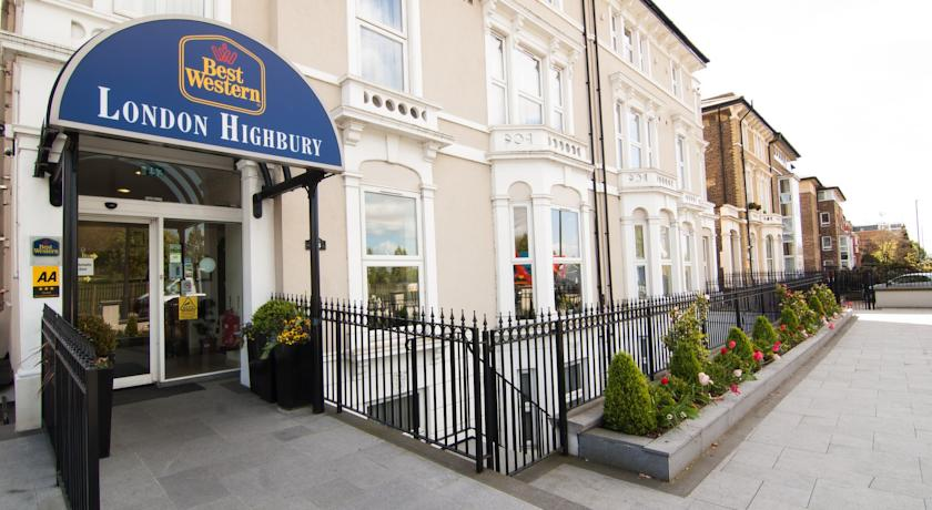 Фото отеля Best Western London Highbury 2*