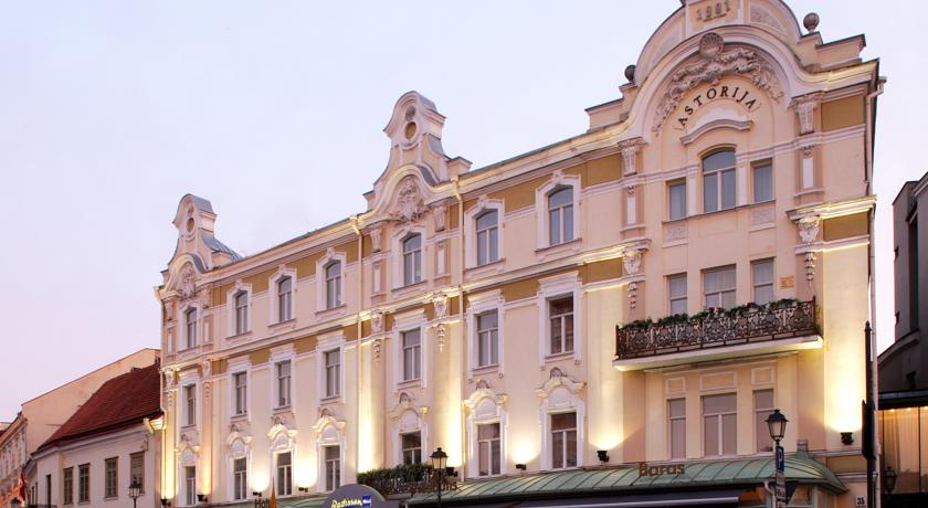 ���� ����� Radisson Blu Royal Astorija 5*