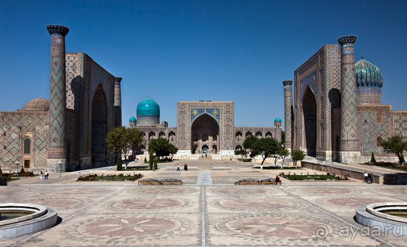 Картинки по запросу узбекистан самарканд площадь регистан